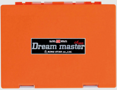 Коробка под блесна RING STAR DREAM MASTER AREA DMA-1500SS ORANGE