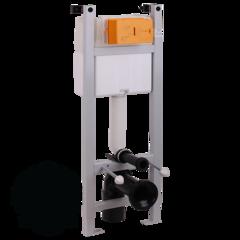 Система инсталляции для подвесного унитаза Migliore Expert Evo(крепление стена-пол, без панели и ручки) H1130xL400xP150/210 mm