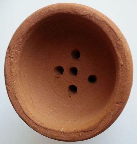 Глиняная чашка большая 2