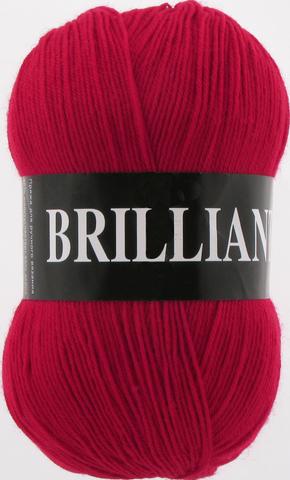 Пряжа Vita Brilliant красный 4968
