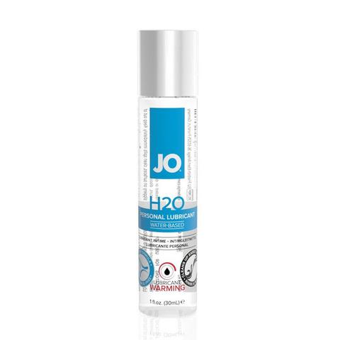 JO H2O Warming, 30 ml Классический возбуждающий лубрикант на водной основе