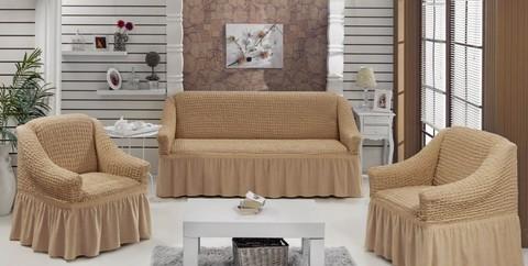 Набор чехлов на трехместный диван и два кресла Angelo
