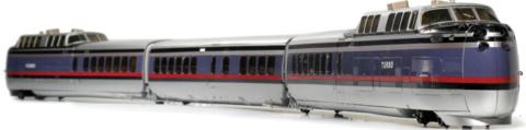 Модель поезда Rapido Turbotrain