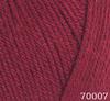 Пряжа Himalaya Everyday 70007 (бордовый)