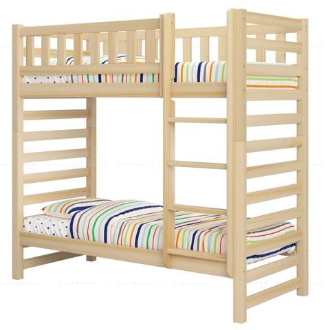 Двухъярусная кровать из дерева Relax - базовая комплектация