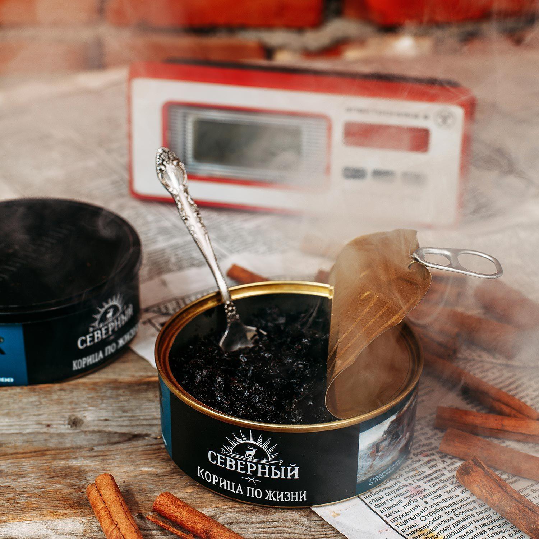 Табак для кальяна Северный Корица по Жизни 100 гр