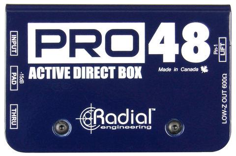Radial Pro 48 активный директ-бокс