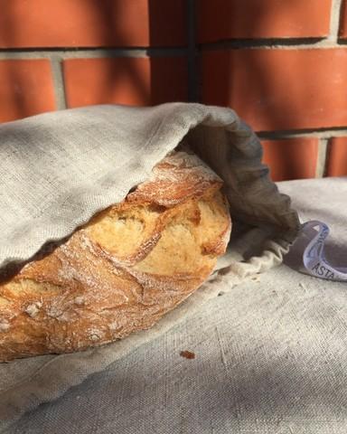 Мешочек льняной для хлеба