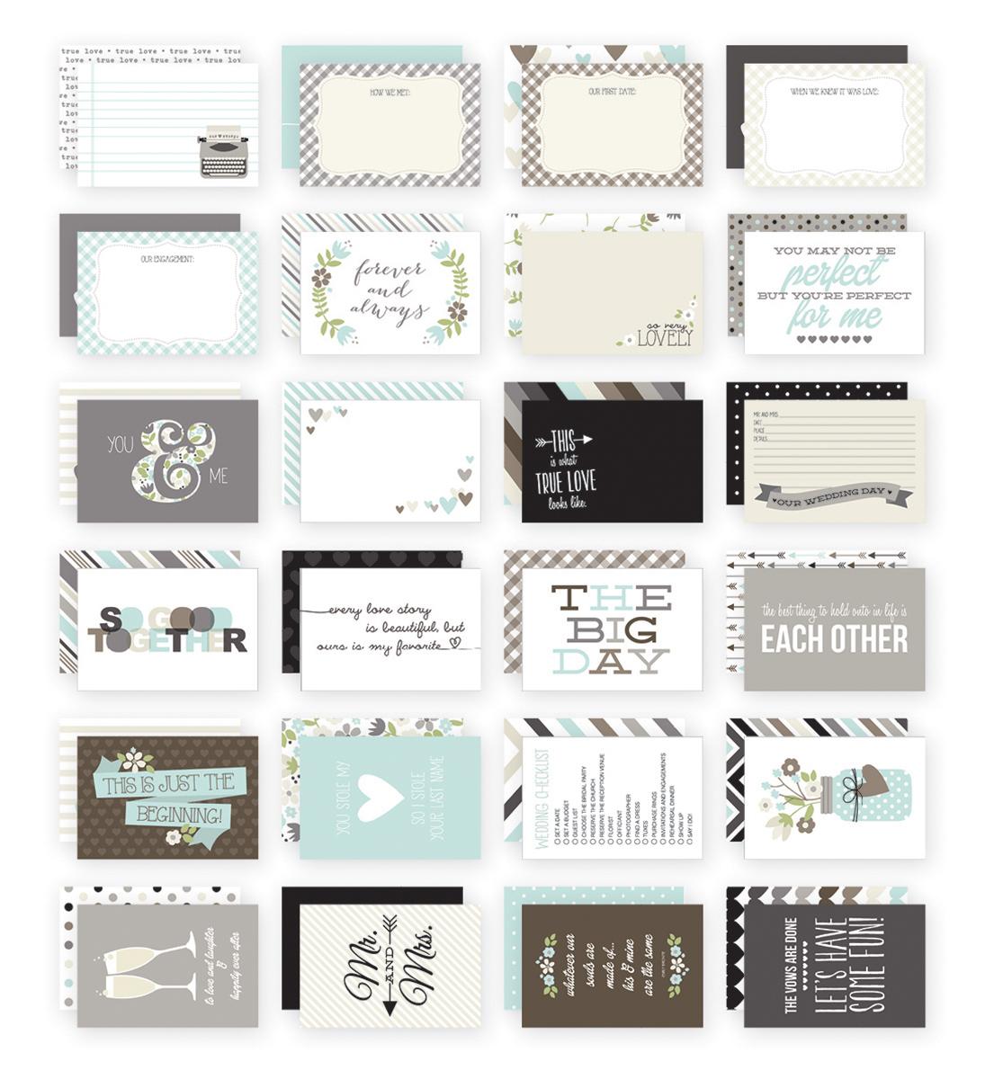 Набор карточек для PL  SN@P Wedding 48 штук