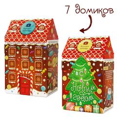 Новогодний домик Детская радость (коробка 7 наборов)
