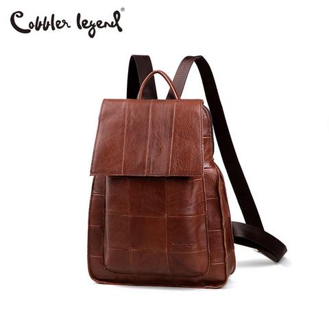 Женский кожаный рюкзак Cobbler Legend 112