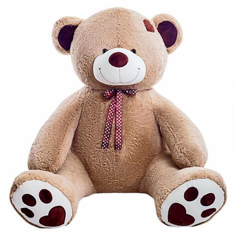Плюшевый медведь Тони Бежевый 160 см