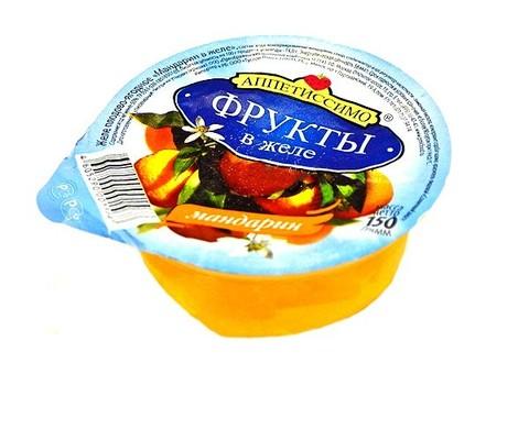 "Желе ""Аппетиссимо"" с мандарином 150г"