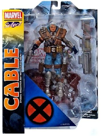 Марвел Селект фигурка Кейбл — Marvel Select Cable
