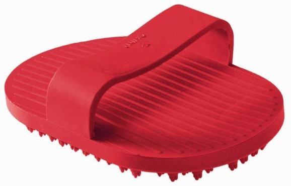 Груминг, уход за шерстью Резиновая грумерская щетка для собак, Hunter Smart, красная 97949.jpg