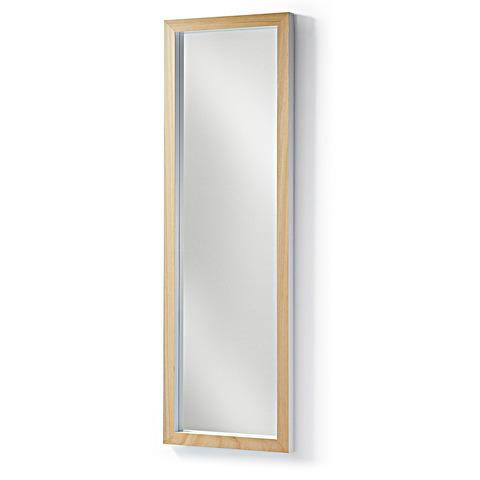 Зеркало Drop 48x148 белое