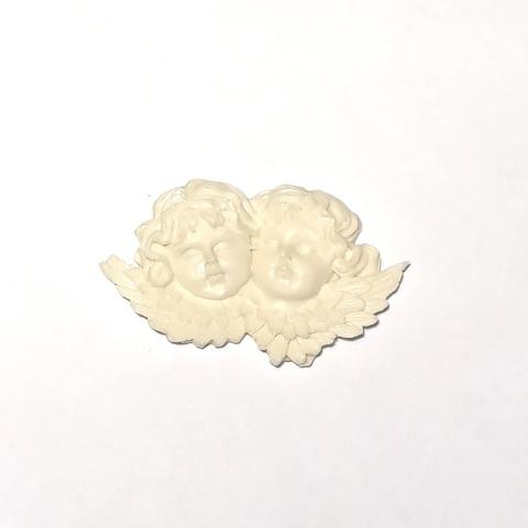 Отливка Два ангела 7х4см., ОТЛ-РО-213, пластик