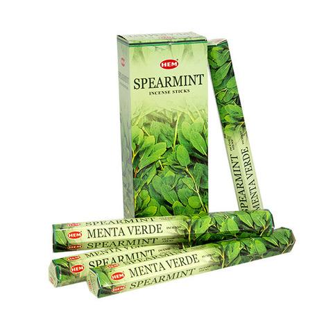 Палочки ароматические благовония HEM Мята Spearmint 20 шт