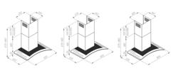 Вытяжка Konigin Vela 60 Inox - схема