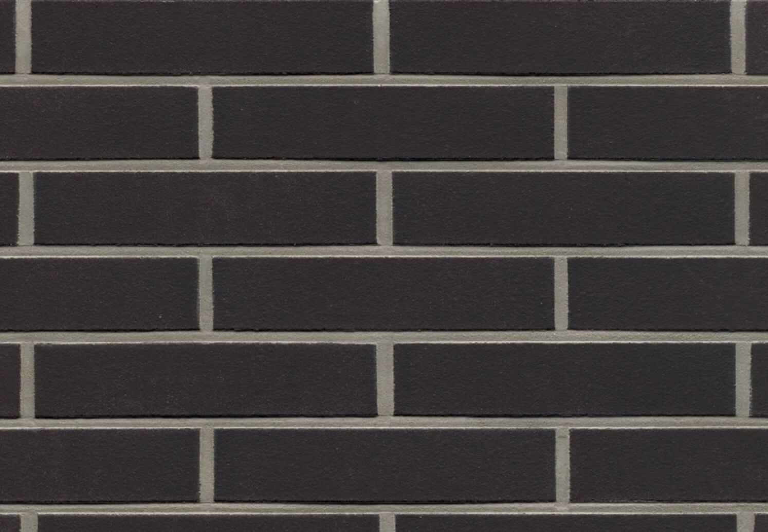 Feldhaus Klinker - R700LDF14, Classic Anthracit Liso, 290x14x52 - Клинкерная плитка для фасада и внутренней отделки