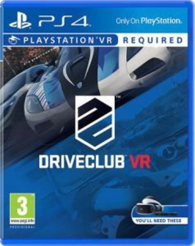 Driveclub VR (PS4, только для VR, русская версия)