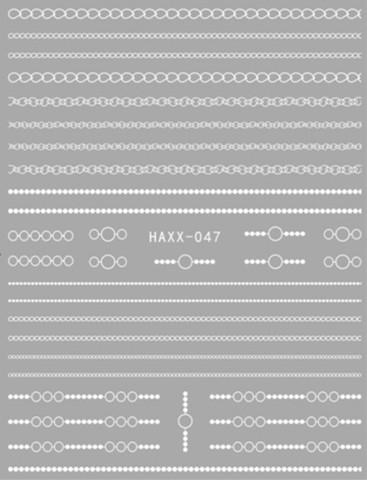 Наклейка силиконовая HAXX-47
