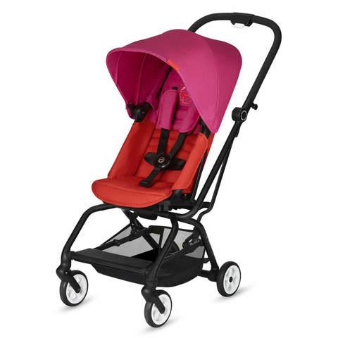 Прогулочная коляска Cybex Eezy S Twist Fancy Pink Purple