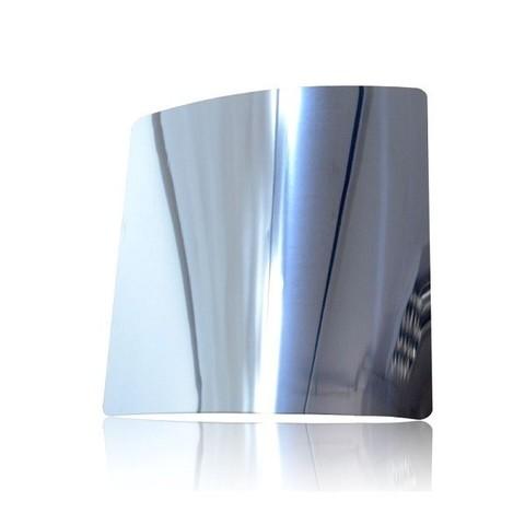 Решетка на магнитах Родфер РД-140 Нержавейка зеркальная с декоративной панелью 140х140 мм