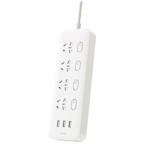 Удлинитель Xiaomi Mi Power Strip Sockets 4 USB 3 White NRB4023CN