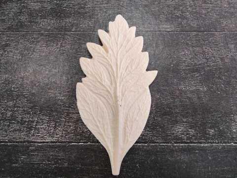 Молд лист, хризантема, арт. 3033