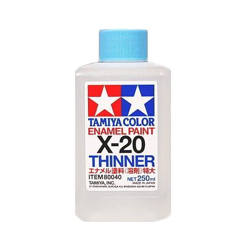 Tamiya Эмаль X-20 Tamiya Растворитель для Эмалей (Enamel Thinner) 250мл 80040.jpg