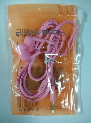Наушники вакуумные S-Music Start CX-120 pink