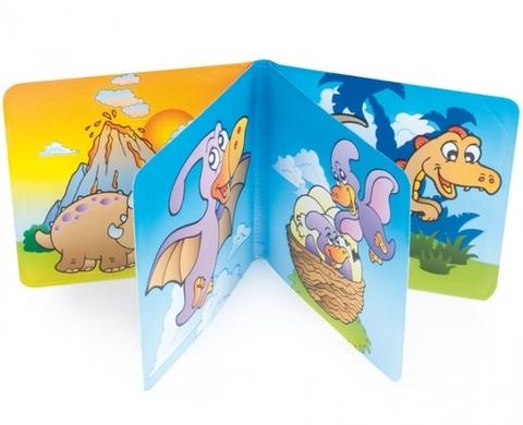 Книжка с пищалкой, 6+ (динозаврик)
