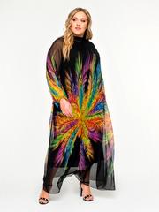 Платье нарядное шифоновое 160209