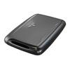 Визитница c защитой Tru Virtu Pearl, темно-серый , 104x67x17 мм