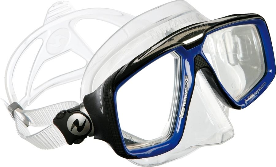 Маска AquaLung Look HD прозрачный силикон