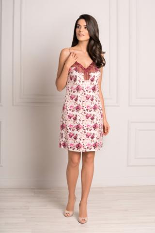 LAETE Ночная сорочка с цветочным принтом 60304