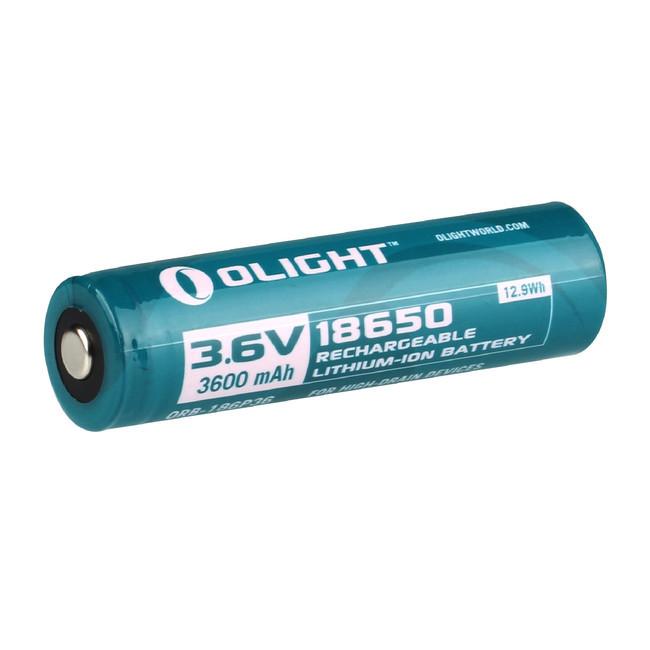 Аккумулятор Li-ion Olight ORB-186P36 18650 3,7 В. 3600 mAh