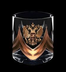 Подарочный набор стаканов для виски «Власть-3», Триколор, фото 2