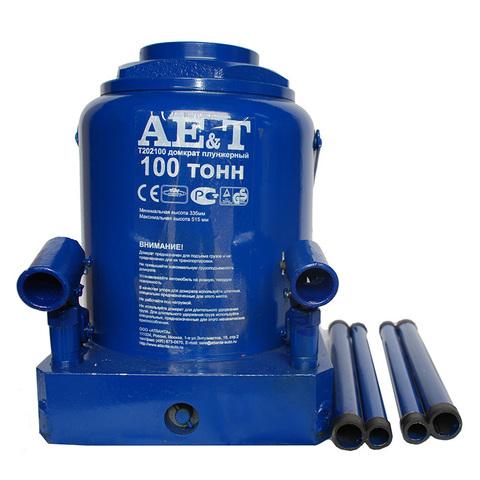 AE&T (T202100) Домкрат бутылочный 100 тонн