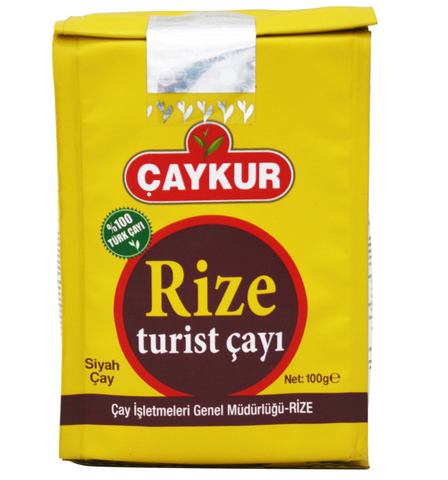 Турецкий черный чай Rize Turist, Çaykur, 100 г
