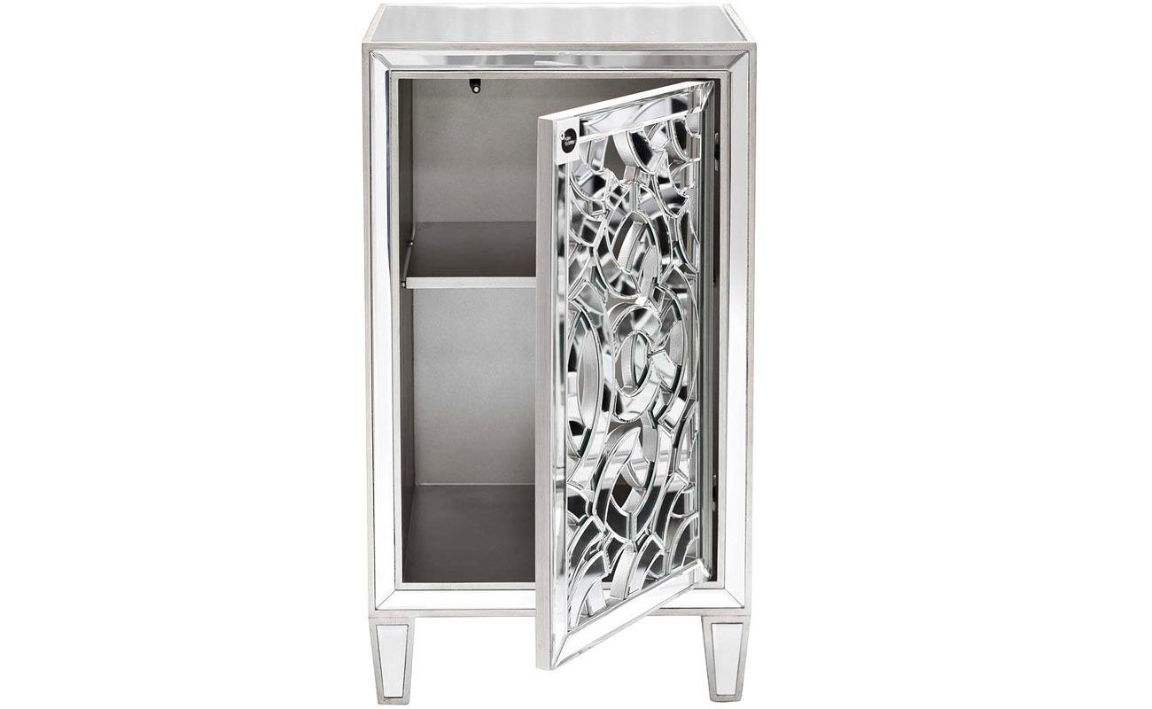 KFC973 Тумба зеркальная (дверь правосторонняя) 492*445*865