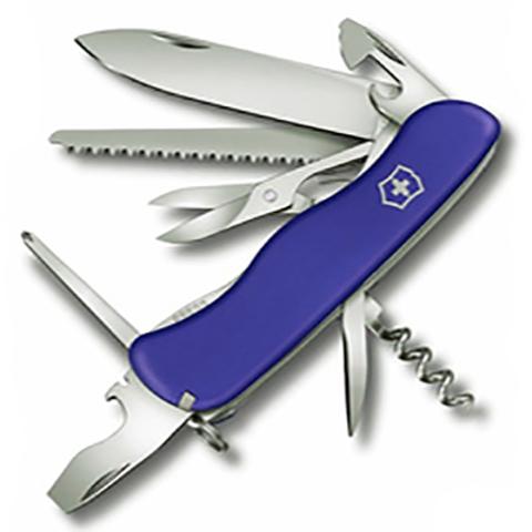 Нож Victorinox Outrider, 111 мм, 14 функций, синий123