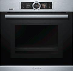 Духовой шкаф с СВЧ и пароваркой Bosch Serie | 8 HNG6764S6 фото