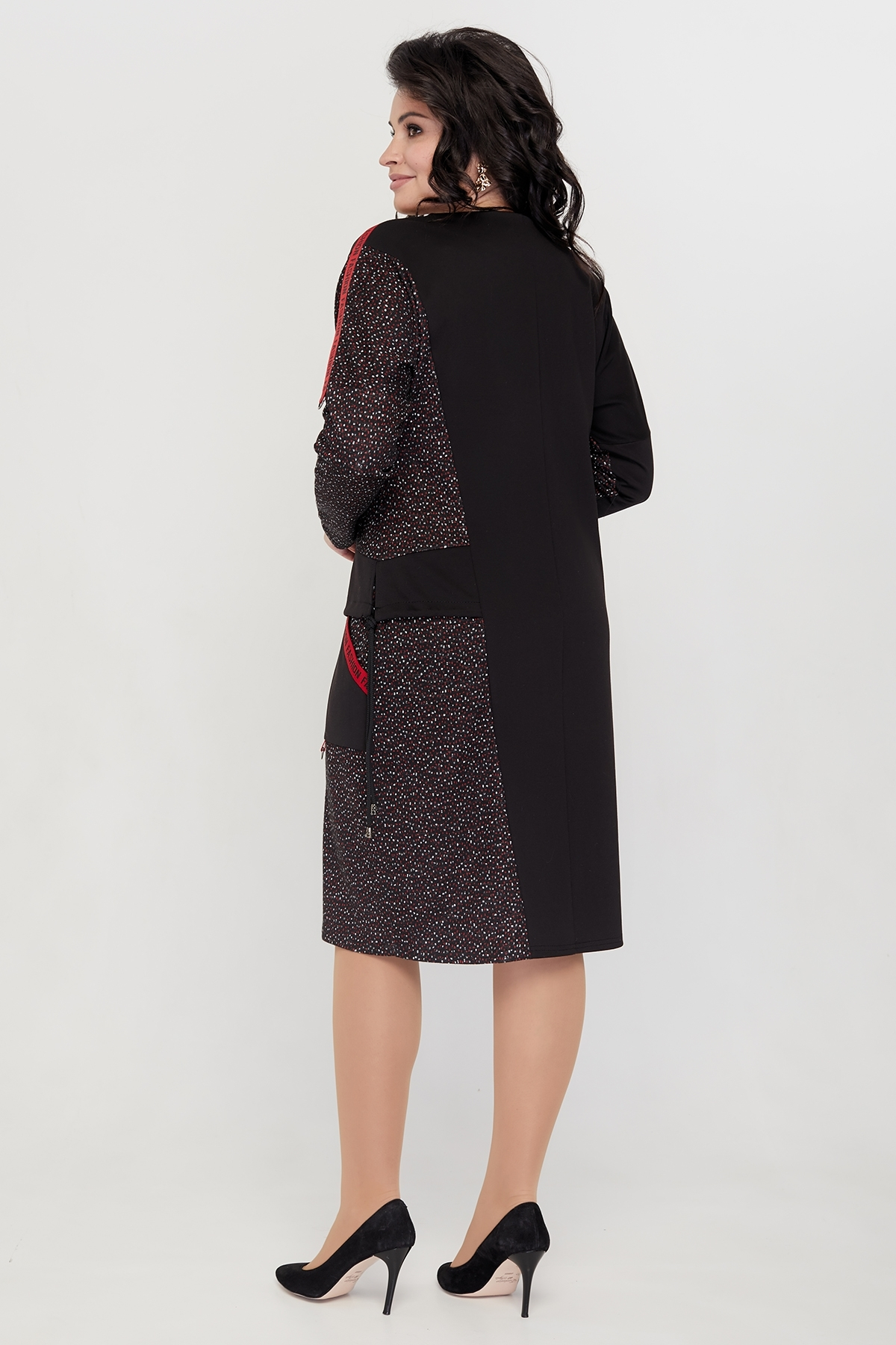 Платье Мильфей (красный)