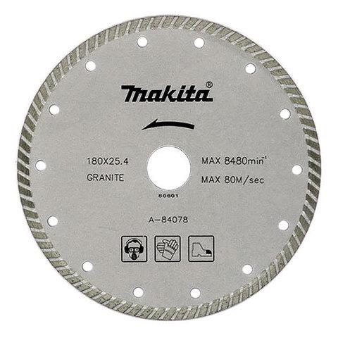 Рифлёный алмазный диск Makita TURBO 180 мм