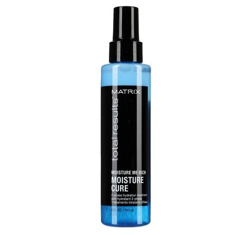 Matrix Total Results Moisture Me Rich: Увлажняющий 2-фазный спрей для волос (Moisture Cure), 150мл