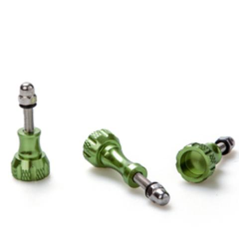 Комплект алюминиевых винтов для GoPro (Зеленый)