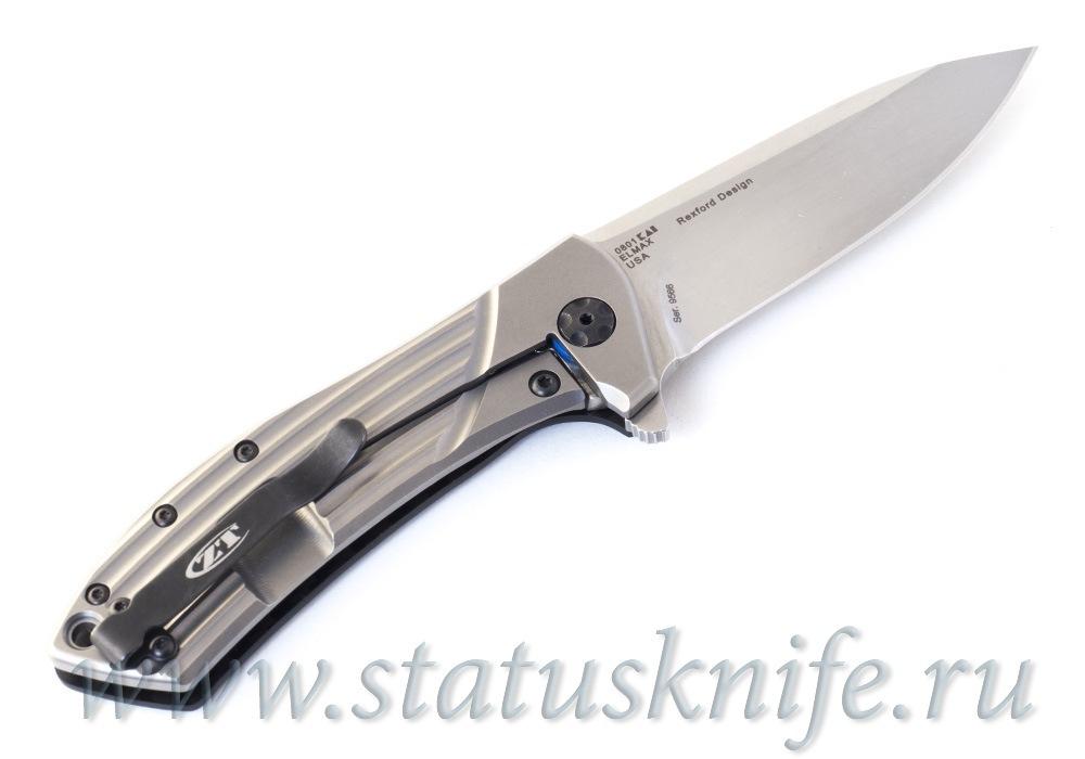 Нож Zero Tolerance 0801 CF Custom Elmax - фотография