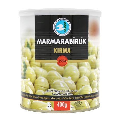 "Оливки зеленые ""битые"" 3XL, Marmarabilik, 400 г"